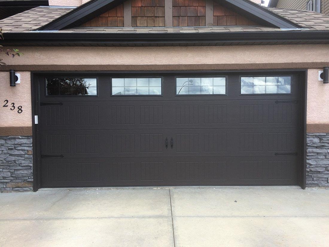 new custom garage door
