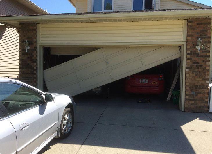 broken garage door nightmare