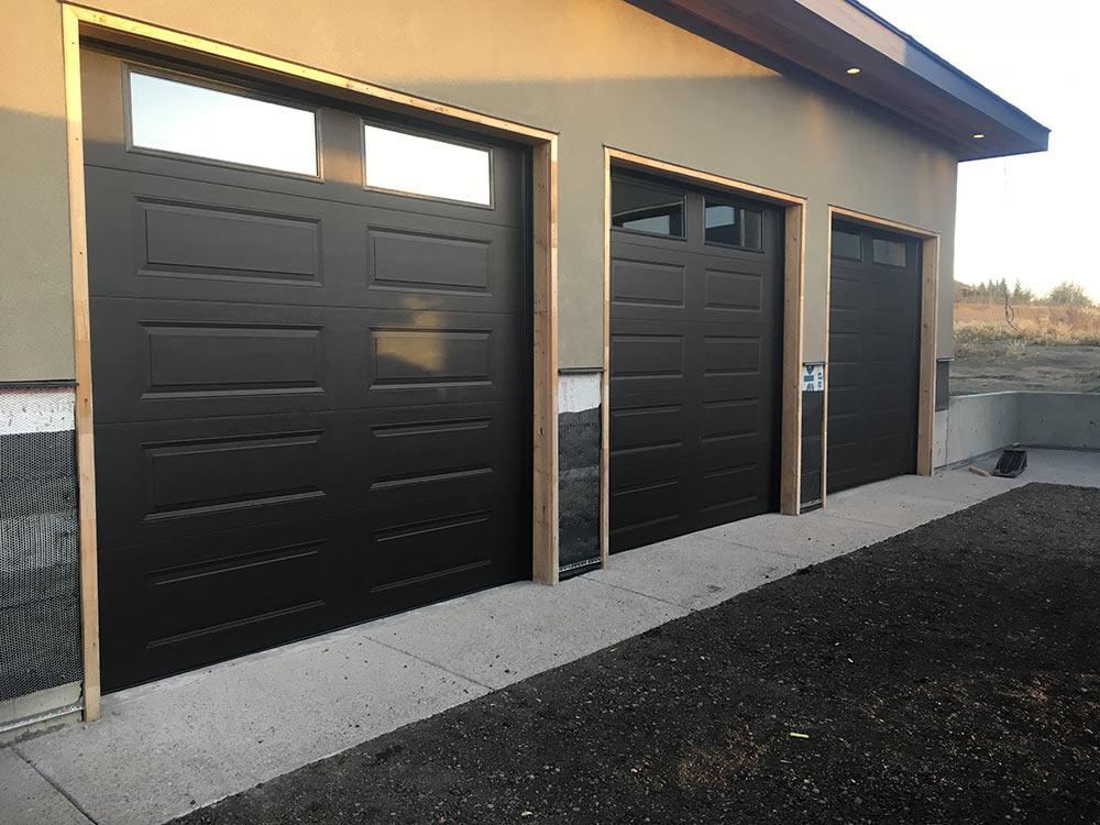 sleek new garage doors