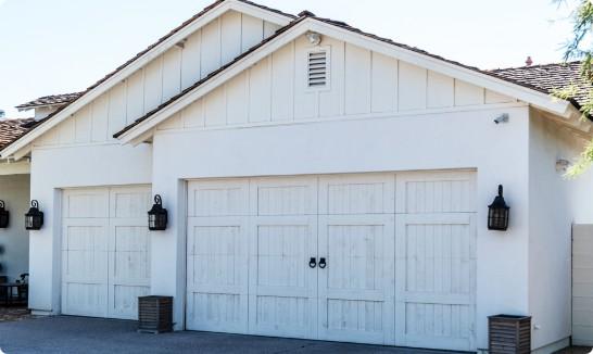 aesthetic custom garage doors