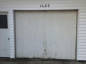 garage door needs replacement