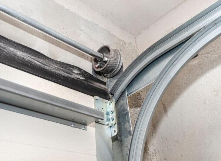 garage door tracks and rollers