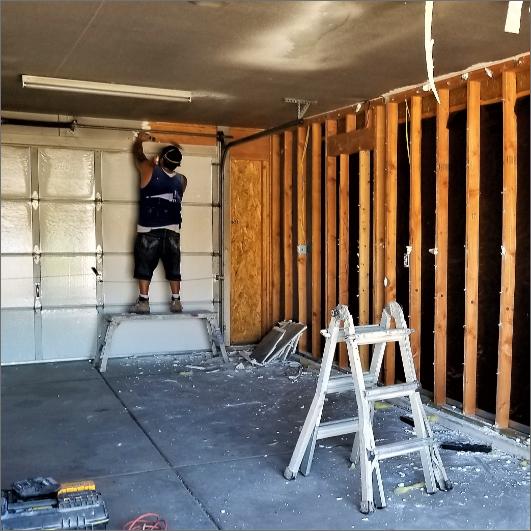 garage maintenance repairs
