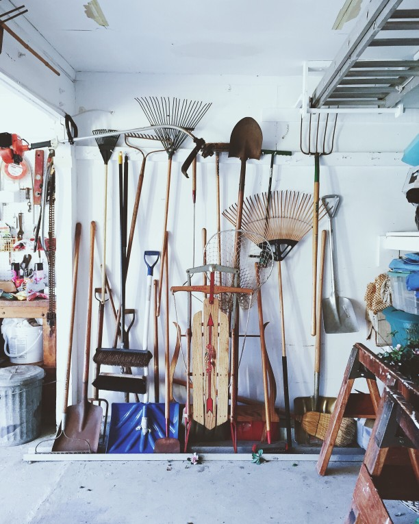 organization tips for your garage